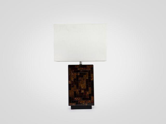 Лампа настольная (мозаика)