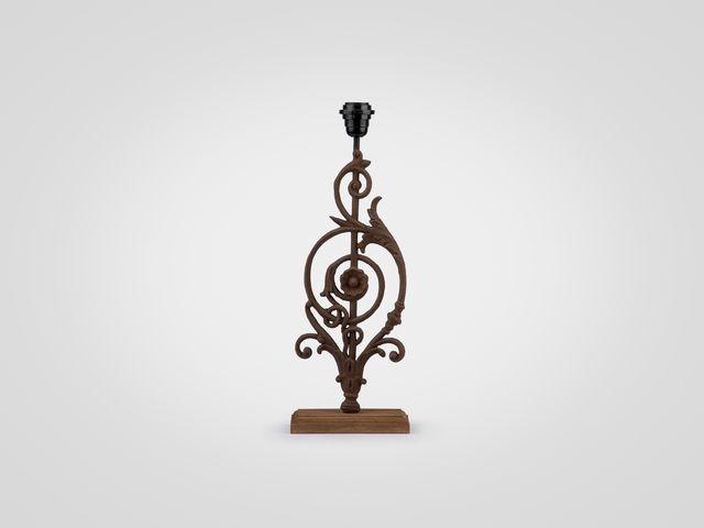 Лампа Euphorbe кованая в стиле Винтаж