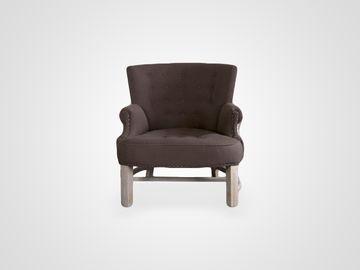Кресло «Майами» в темно-коричневом цвете в американсом стиле