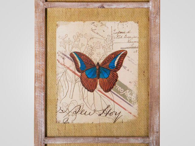 Настенный декор «Бабочки»