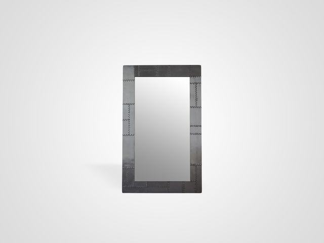 Зеркало в стиле арт-деко из металла