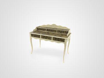 Бюро в стиле прованс из натурального дерева с выдвижными ящиками