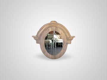 Зеркало из натурального дуба Американский стиль