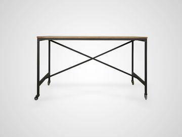 Рабочий стол «Industrial» коричневого цвета