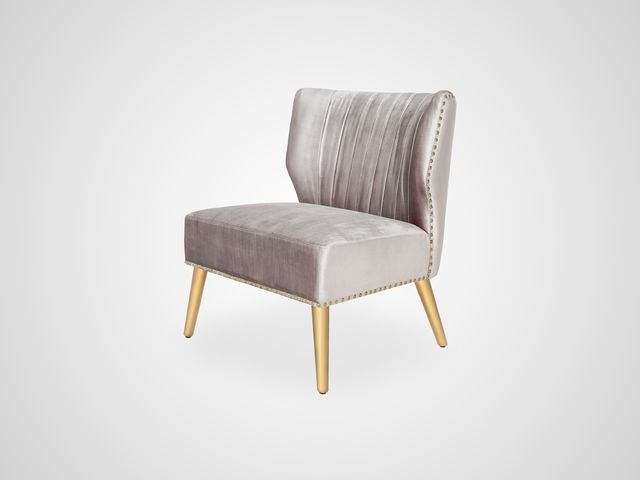 Кресло бархатное Арт-Деко