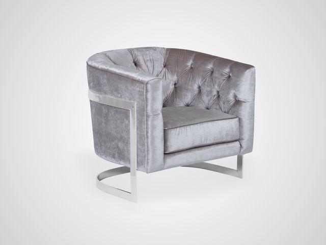 Кресло с капитонами в стиле Арт-Деко