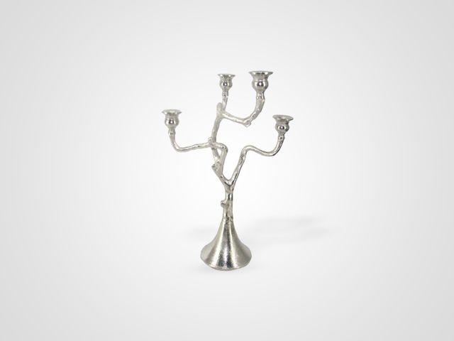 Канделябр декор из металла в стиле лофт