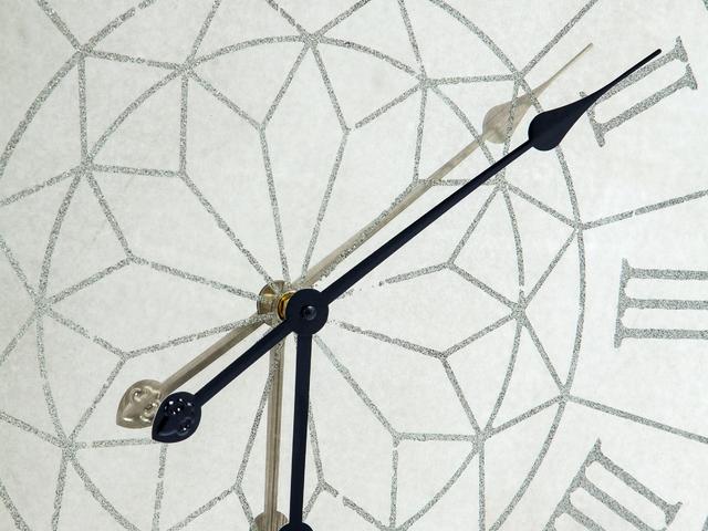 Часы настенные круглые зеркальные