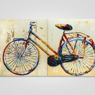 Настенный декор «Велосипед»