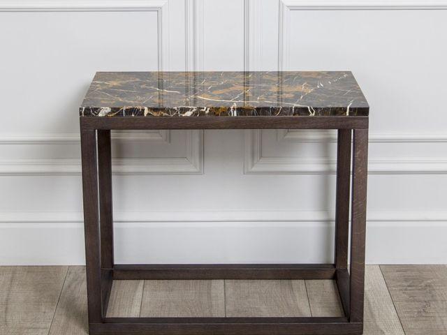 Придиванный столик Lodi c мрамором Moscata