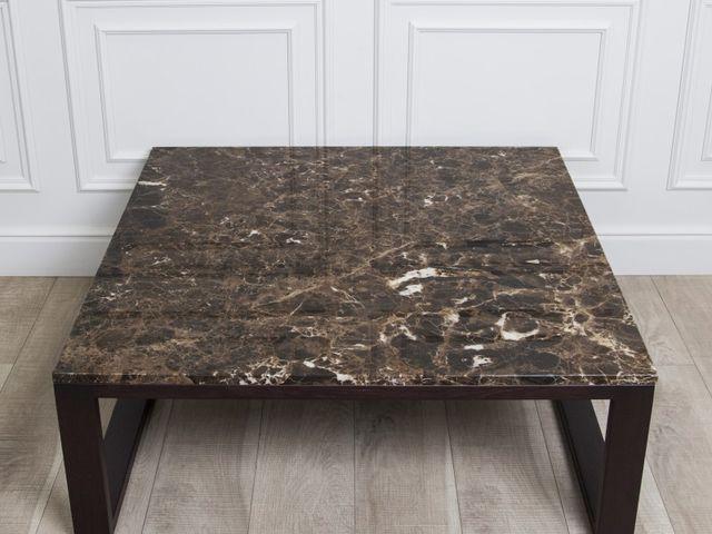 Журнальный мраморный стол Trevi