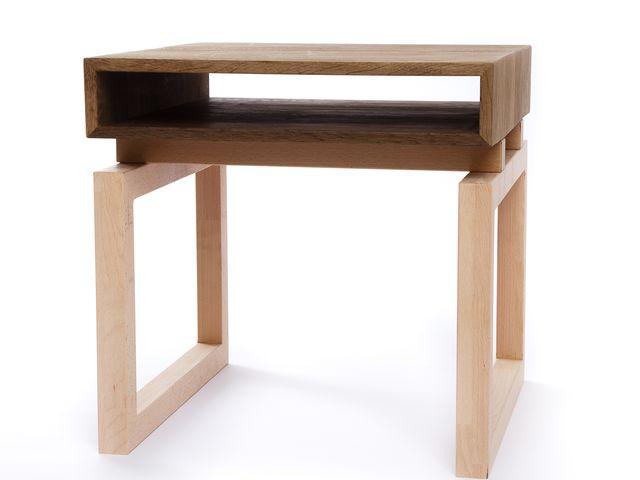Стол со столешницей из мореного дуба Turi