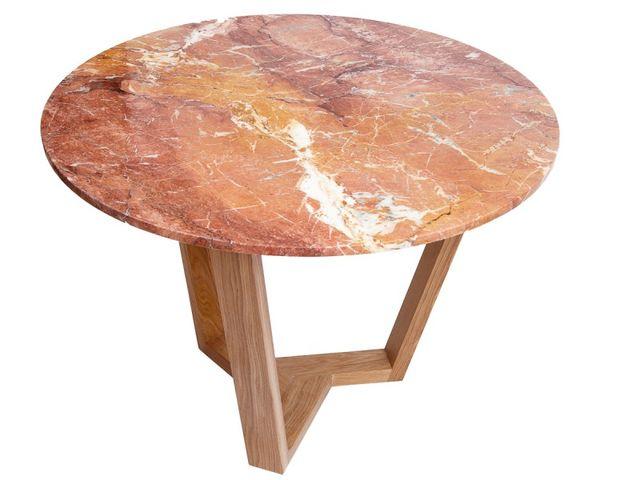 Стол Round Brown