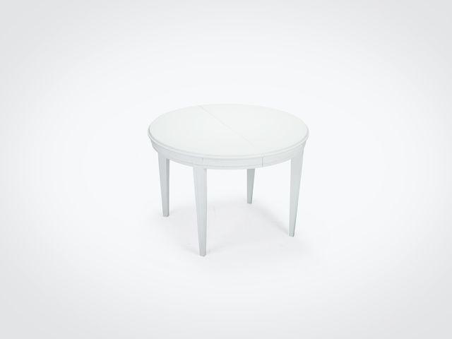 Стол обеденный НИКОЛЬ раздвижной из натурального дерева Скандинавский стиль