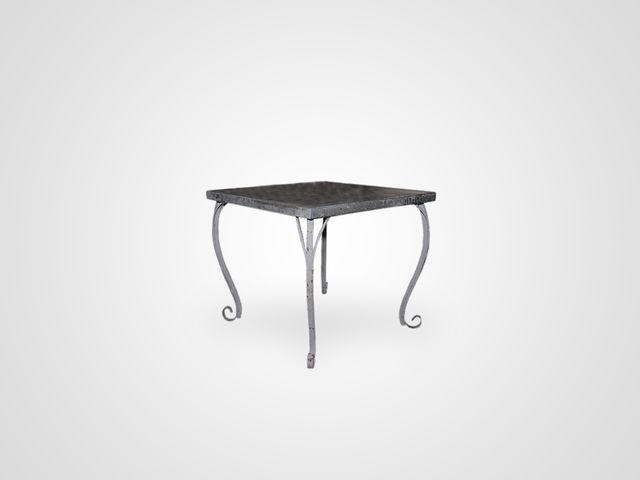 Стол ЭВИТА из металла в стиле прованс