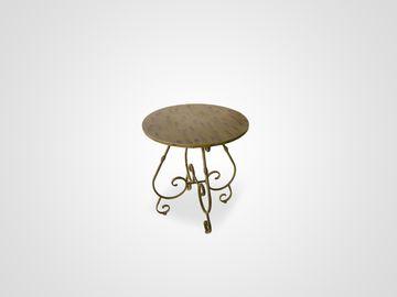 Приставной ламповый столик АРНО в стиле прованс