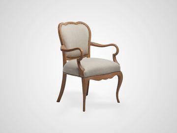 Кресло (дуб) из натурального дерева классический стиль