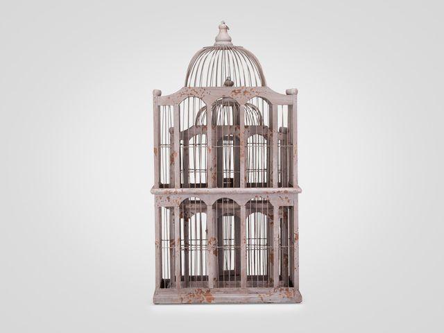 Клетка декоративная  комплект из 2-х штук в стиле прованс