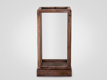 Короб стеклянный малый в стиле лофт