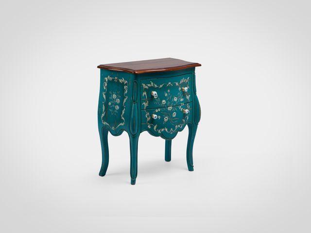 Комод в классическом стиле с росписью ручной работы из массива черешни