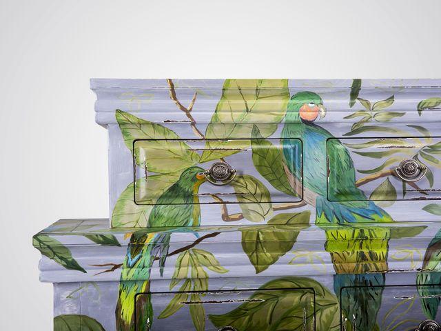 Консоль-буфет «Birds»