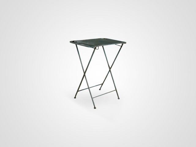 Столик железный АРМА из металла, раскладной в стиле лофт