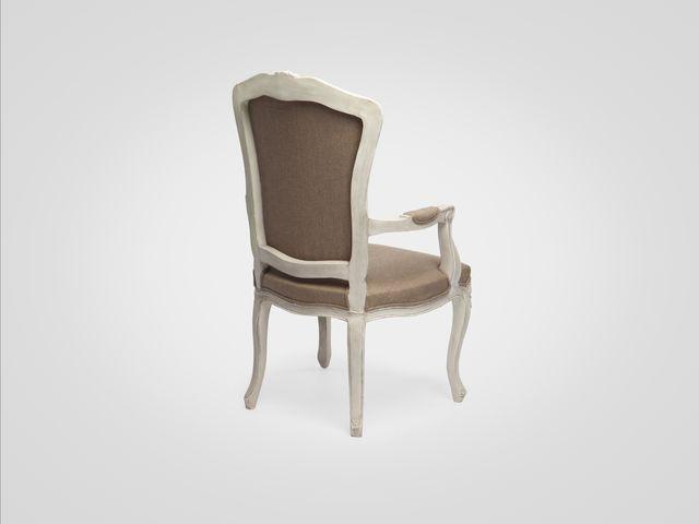 Кресло из натурального дерева в стиле Прованс