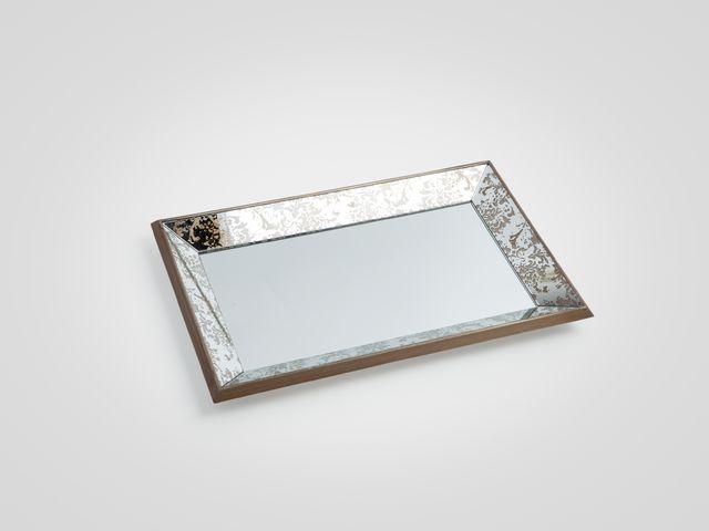 Поднос-зеркало большой