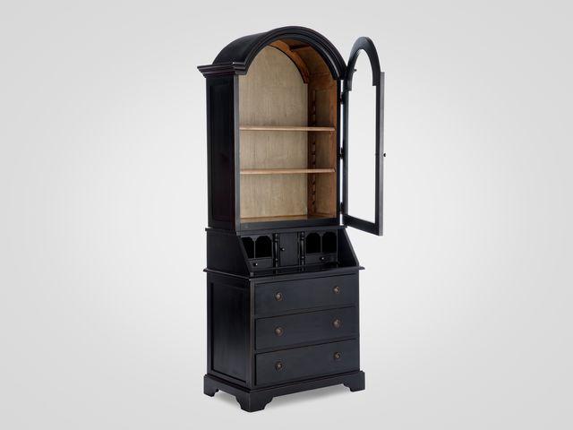 Шкаф-секретер из натурального дерева в классическом стиле