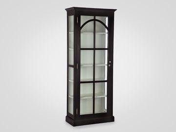 Витрина со стеклом в классическом стиле