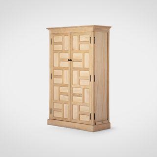 Винный шкаф (дуб из натурального дерева Американский стиль