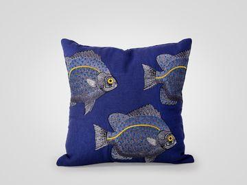 Подушка 3 рыбы