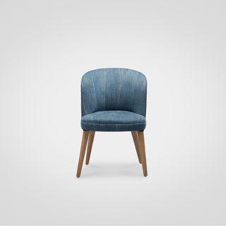 Кресло «Патрик»  в обивке их денима в стиле лофт