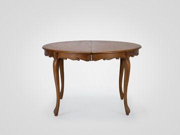 Стол обеденный круглый раздвижной в стиле прованс