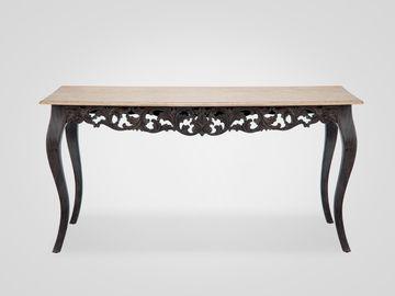 Стол обеденный «Сицилия» в классическом стиле из натурального дерева