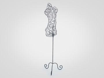 Манекен кованый декоративный в стиле арт-деко