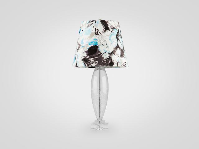 Лампа из стекла