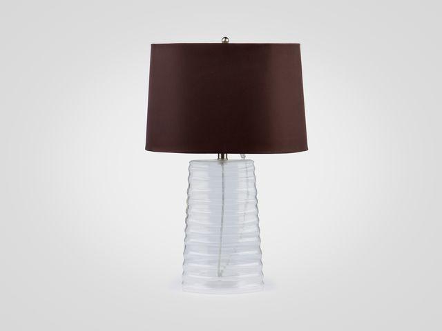Лампа настольная (стекло)