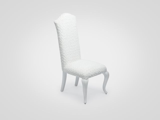 Стул ЛЭДИС белого цвета в скандинавском стиле