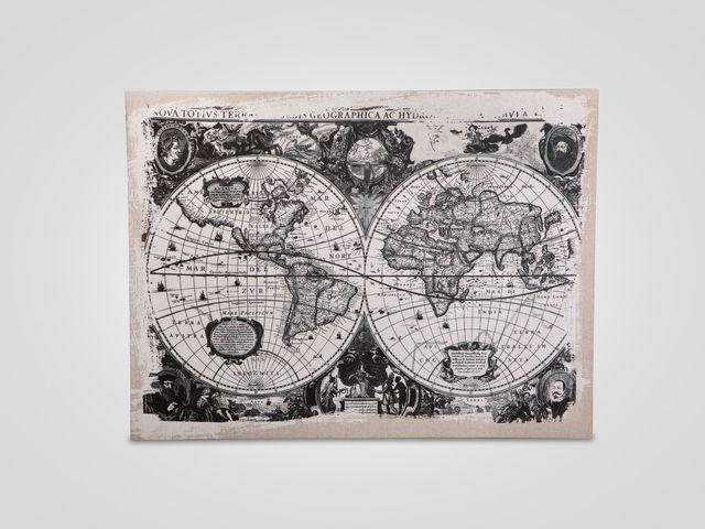 Настенный декор «Карта»
