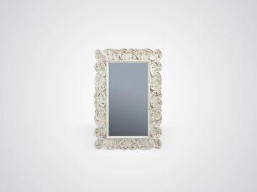 Зеркало «Модерн» из натурального дерева со старением и патиной