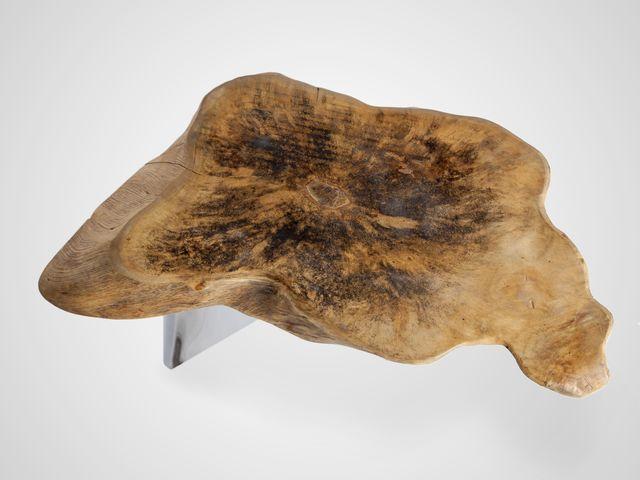Столик на шпаловых ножках в стиле арт-деко