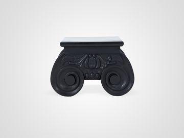 Столик низкий черного цвета в стиле Ар-Деко