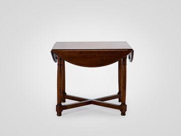 Стол обеденный круглый складной ДЖАГГЕР в классическом стиле